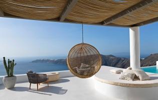 The Astra Private Villa,Imerovigli, Santorini, Greece. TravelPlusStyle.com