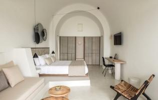 Enigma Suites, Santorini. TravelPlusStyle.com