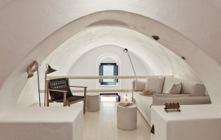 Homeric Poems, Firostefani, Santorini. TravelPlusStyle.com