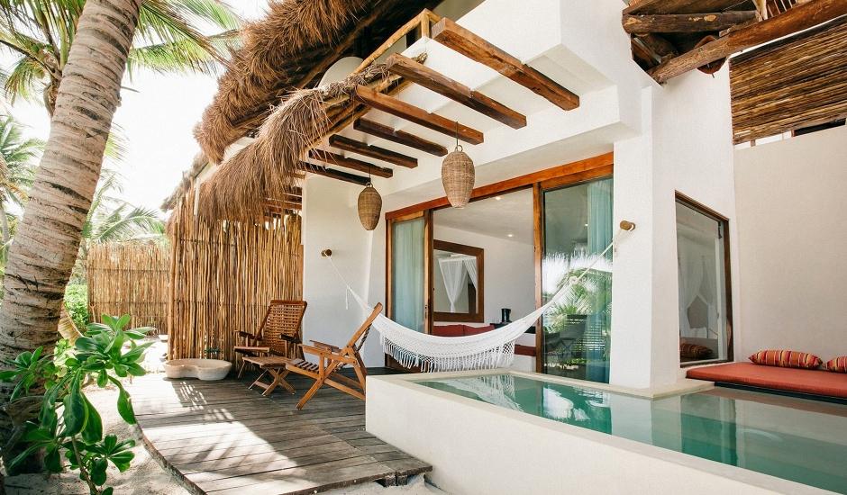 The Beach Tulum, Mexico. TravelPlusStyle.com