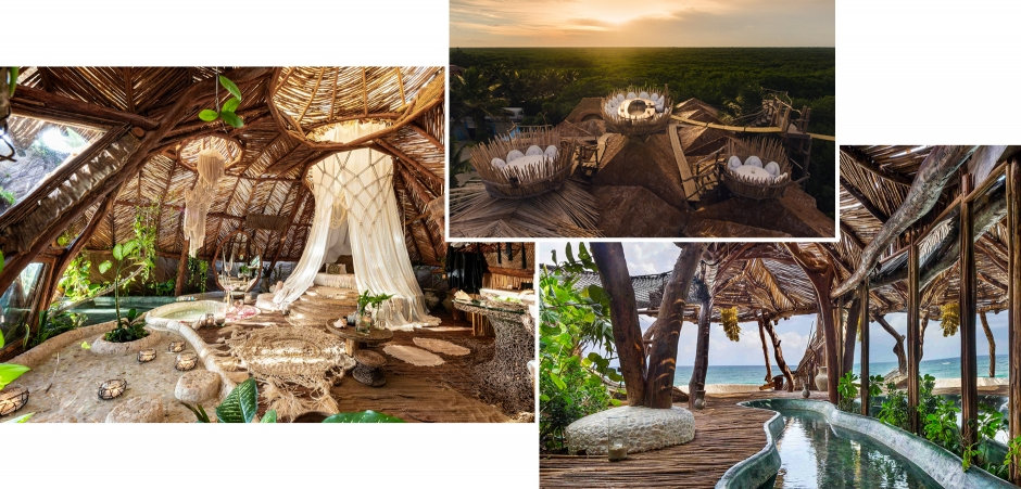 Azulik Resort, Tulum, Mexico. TravelPlusStyle.com