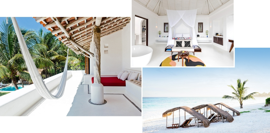 Hotel Esencia, Tulum, Mexico. TravelPlusStyle.com