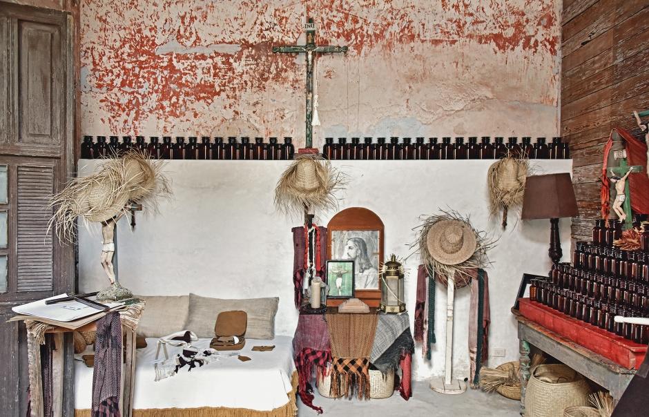 Coqui Coqui Casa De Los Santos, Izamal, Mexico. © Photo by TravelPlusStyle