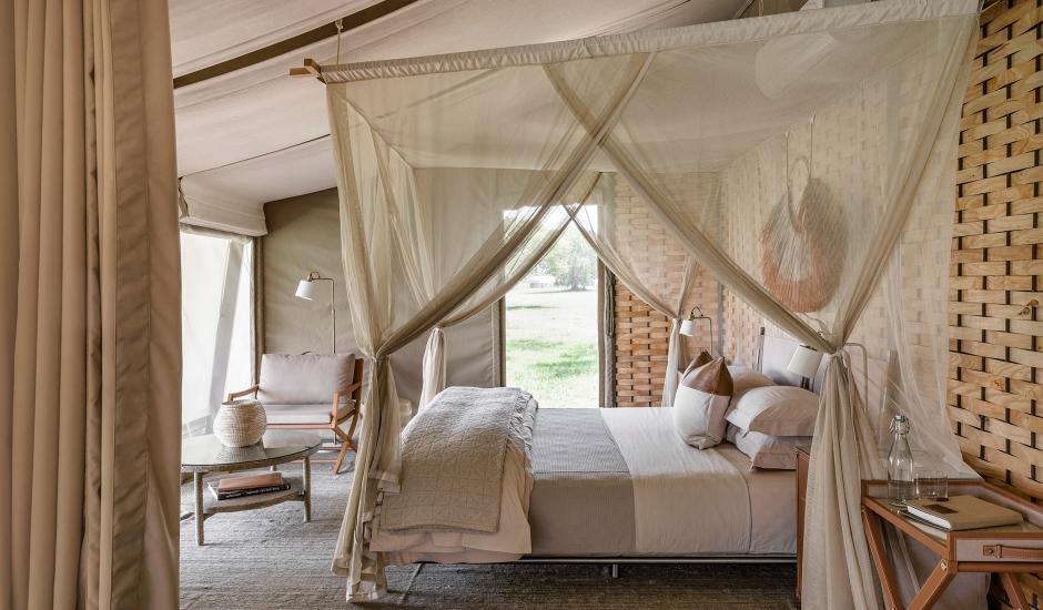 Singita Sabora Tented Camp, Tanzania. TravelPlusStyle.com