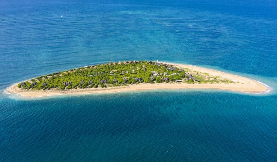 Banyan Tree Ilha Caldeira, Mozambique. TravelPlusStyle.com