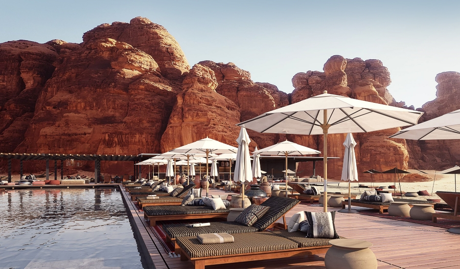 Habitas AlUla,Saudi Arabia. TravelPlusStyle.com
