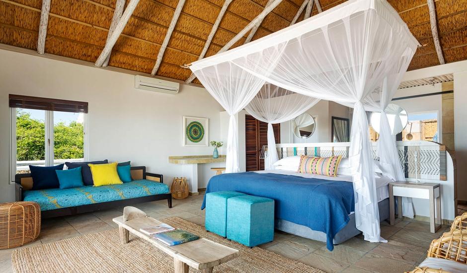 Azura Marlin Beach, Benguerra Island,Mozambique. TravelPlusStyle.com