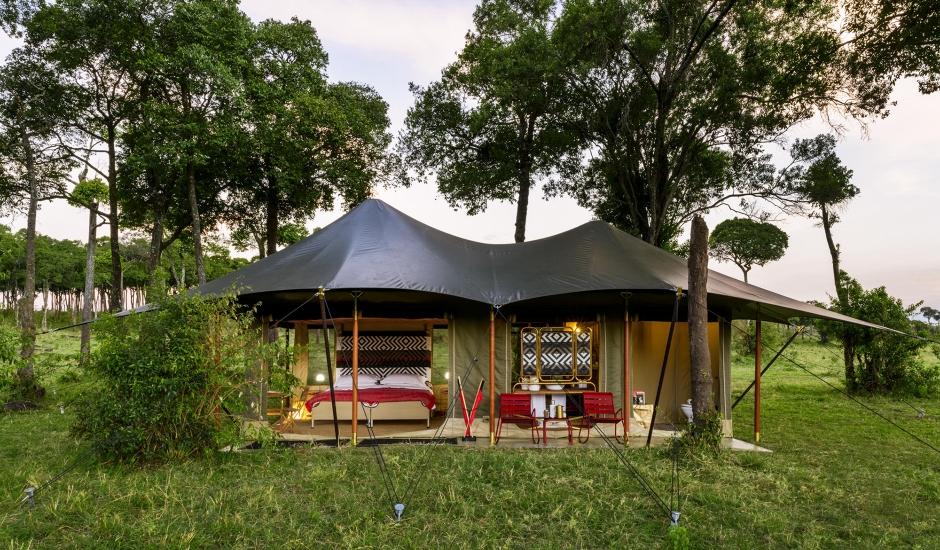Angama Safari Camp,Maasai Mara, Kenya. TravelPlusStyle.com