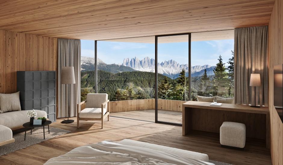 Forestis Dolomites, Italy. TravelPlusStyle.com