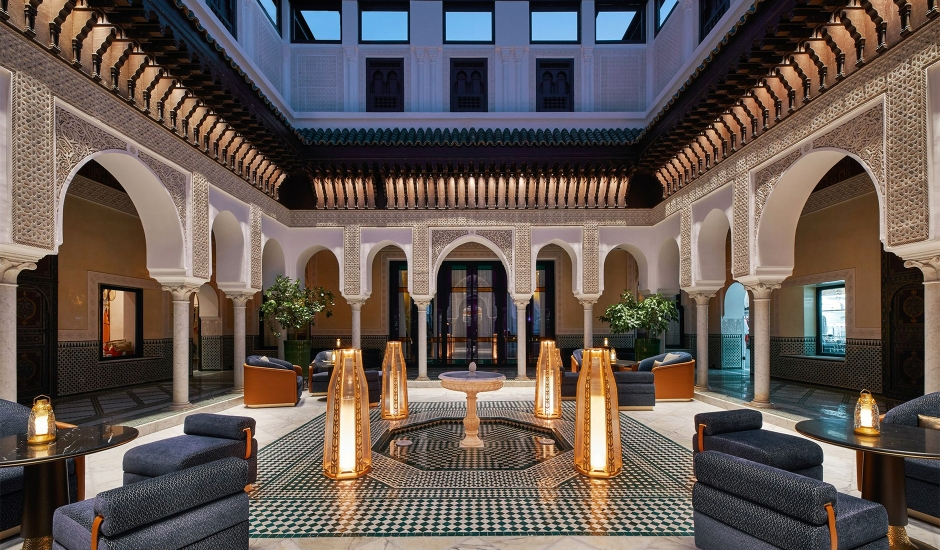 La Mamounia, Marrakech, MoroccoTravelPlusStyle.com