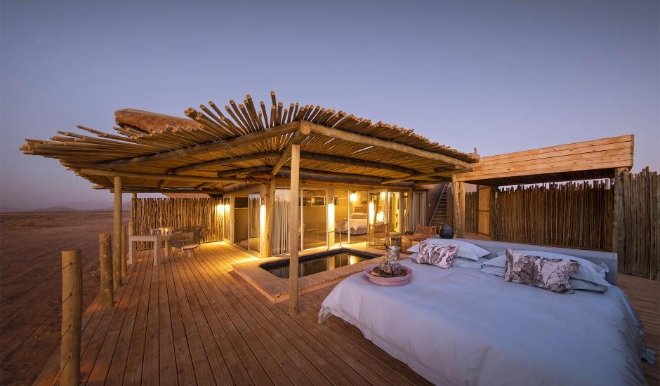 Little Kulala, Namibia. TravelPlusStyle.com