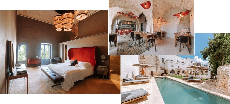 Paragon 700 Boutique Hotel & SPA, Ostuni, Italy. TravelPlusStyle.com