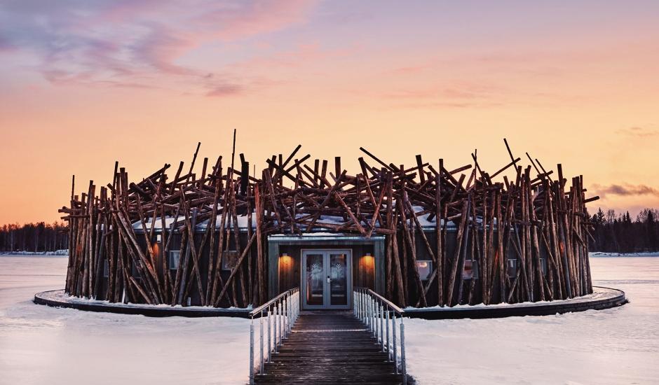 Arctic Bath, Swedish Lapland, Sweden. TravelPlusStyle.com