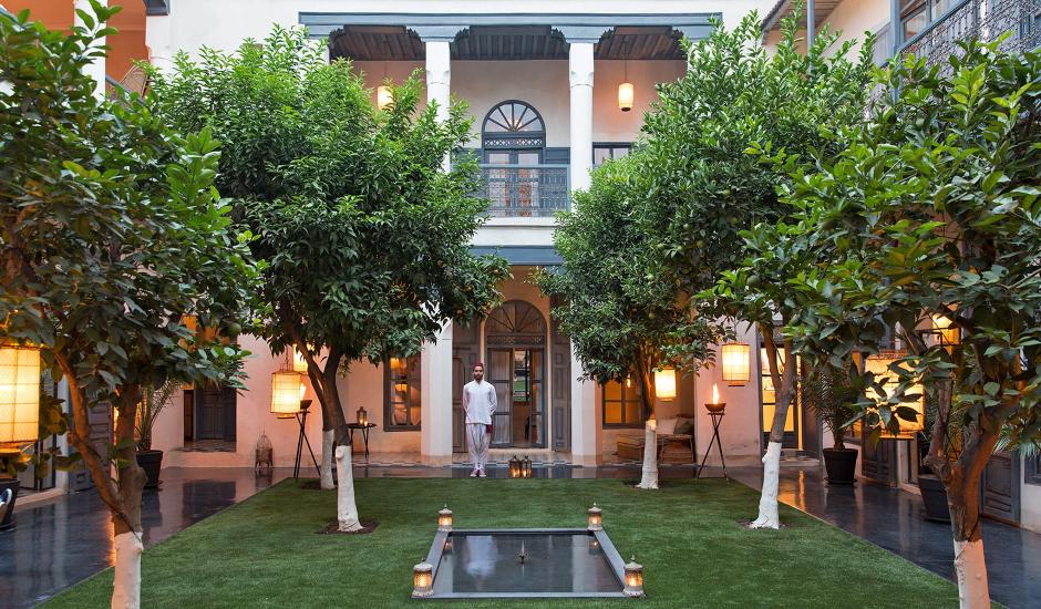 Riad Tarabel, Marrakech,Morocco. TravelPlusStyle.com