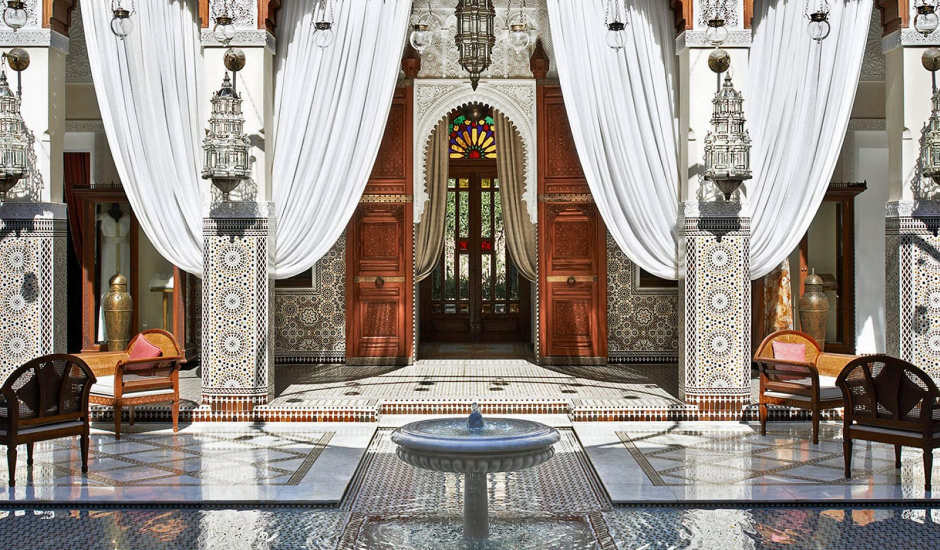 Royal Mansour Marrakech, Morocco. TravelPlusStyle.com