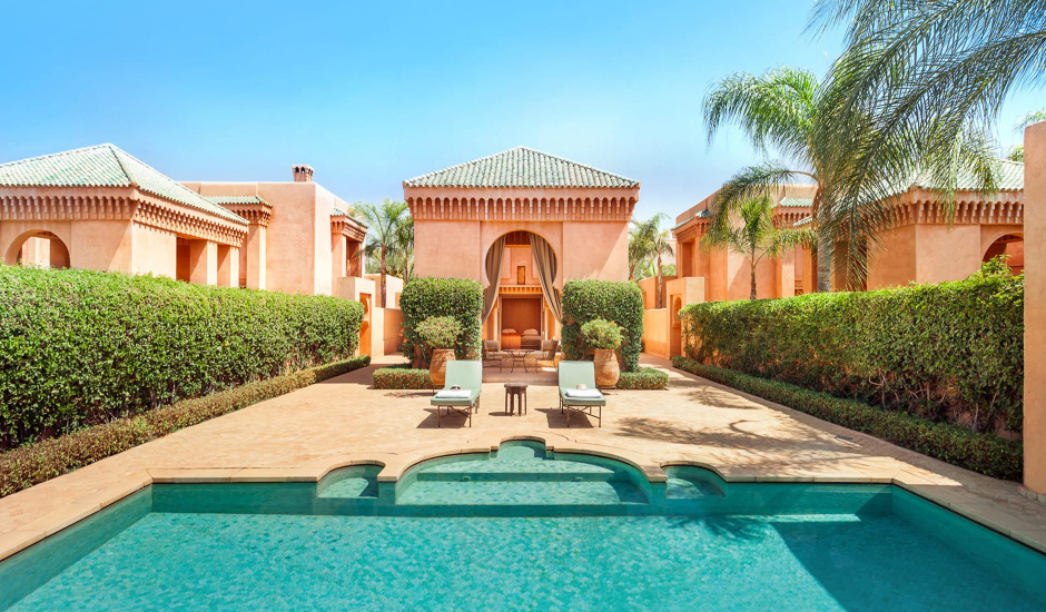 Amanjena, Marrakech, Morocco. TravelPlusStyle.com