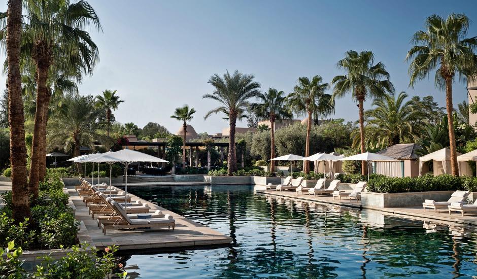 Four Seasons Resort Marrakech, Morocco. TravelPlusStyle.com