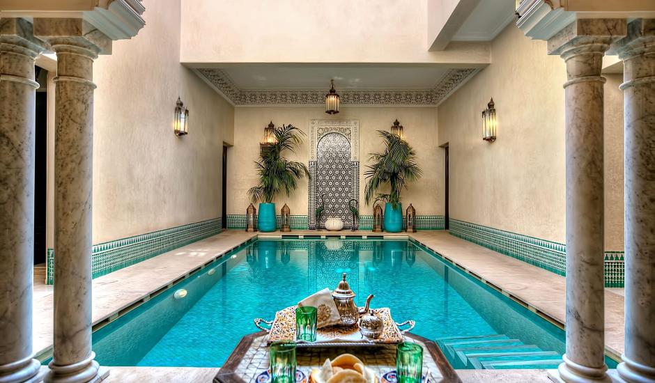 Riad Kniza Marrakech, Morocco. TravelPlusStyle.com