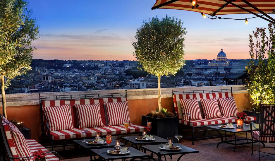 Hotel de la Ville, A Rocco Forte Hotel, Rome, Italy. TravelPlusStyle.com