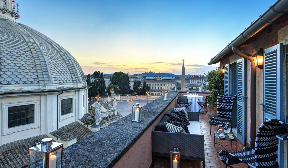Hotel de Russie, A Rocco Forte Hotel,Rome, Italy. TravelPlusStyle.com