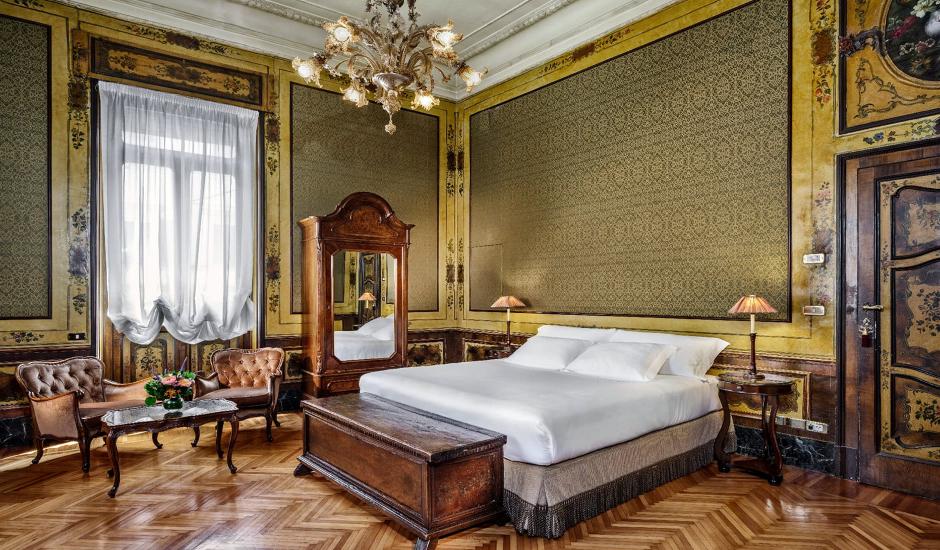 Hotel Locarno, Rome, Italy. TravelPlusStyle.com