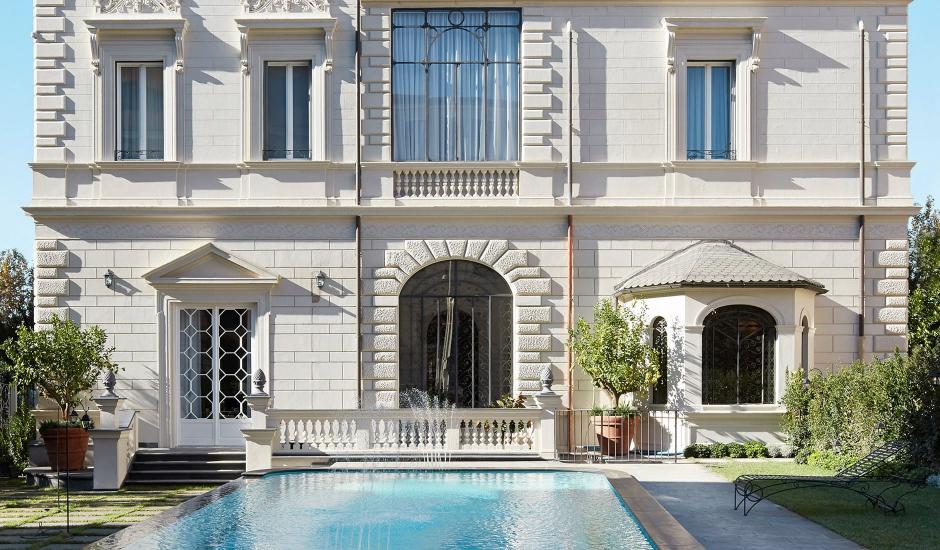 Palazzo Dama, Rome, Italy. TravelPlusStyle.com