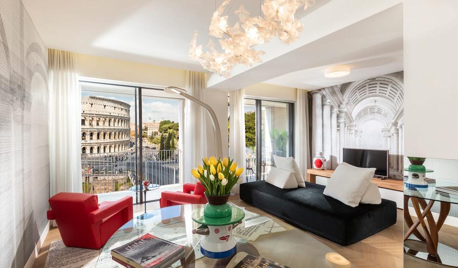 Hotel Palazzo Manfredi Rome, Italy. TravelPlusStyle.com