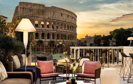 Hotel Palazzo Manfredi, Rome, Italy. TravelPlusStyle.com
