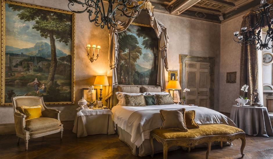 Residenza Napoleone III, Rome, Italy. TravelPlusStyle.com