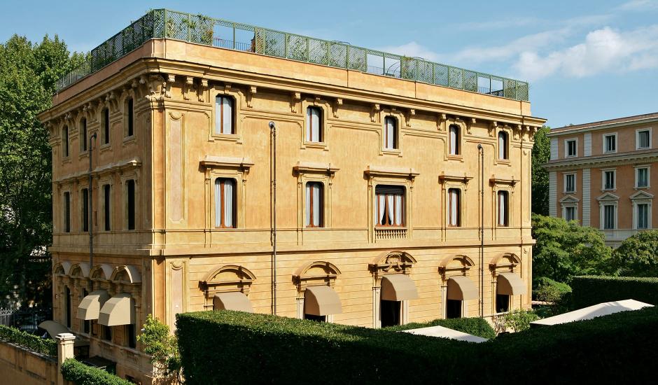 Villa Spalletti Trivelli, Rome, Italy. TravelPlusStyle.com