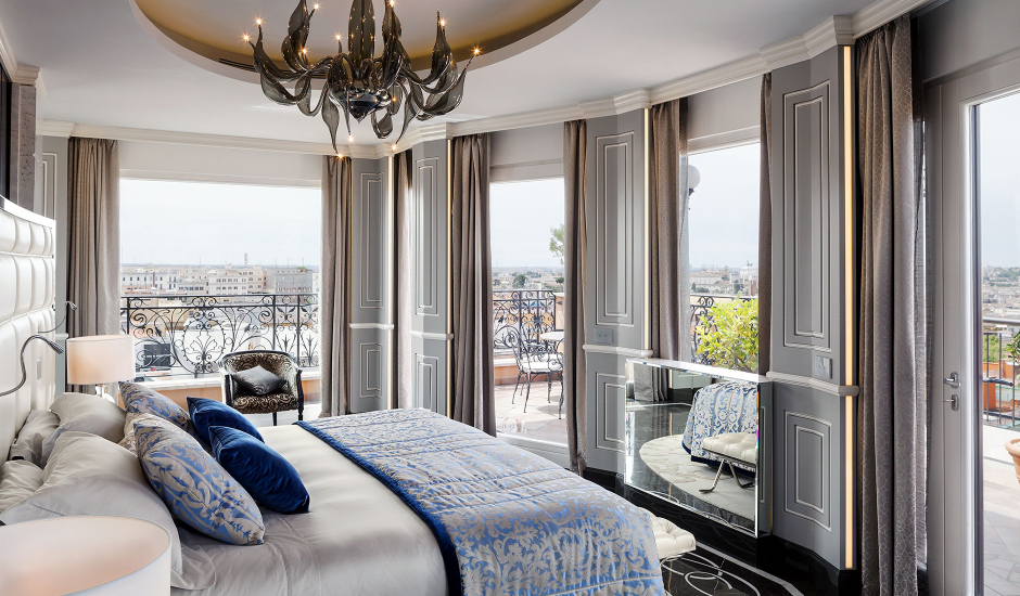 Baglioni Hotel Regina, Rome, Italy. TravelPlusStyle.com