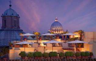 Bio Hotel Raphaël – Relais & Châteaux, Roma, Italy. TravelPlusStyle.com
