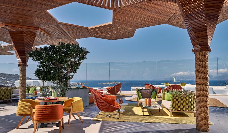 Myconian Naia, Mykonos, Greece. The Best Luxury Hotels In Mykonos. TravelPlusStyle.com