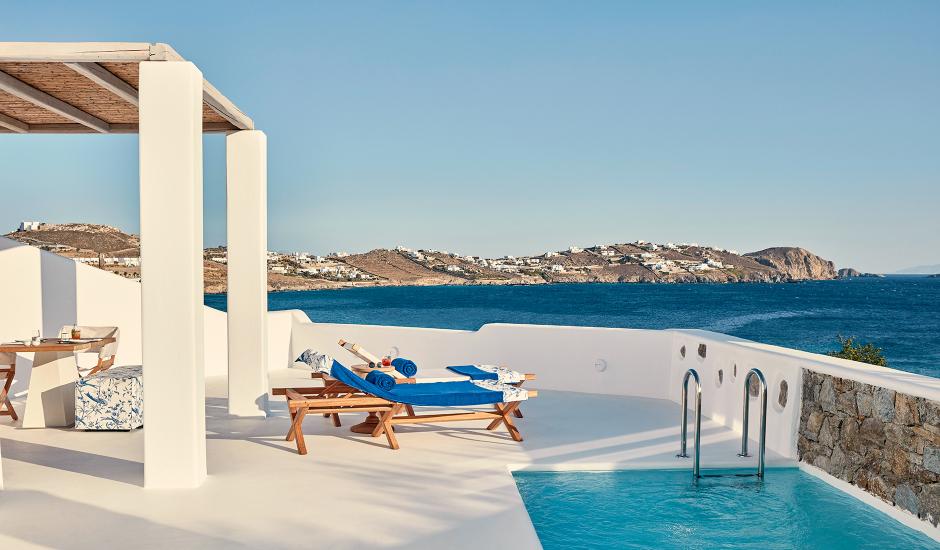 Katikies Mykonos, Mykonos, Greece. The Best Luxury Hotels In Mykonos. TravelPlusStyle.com