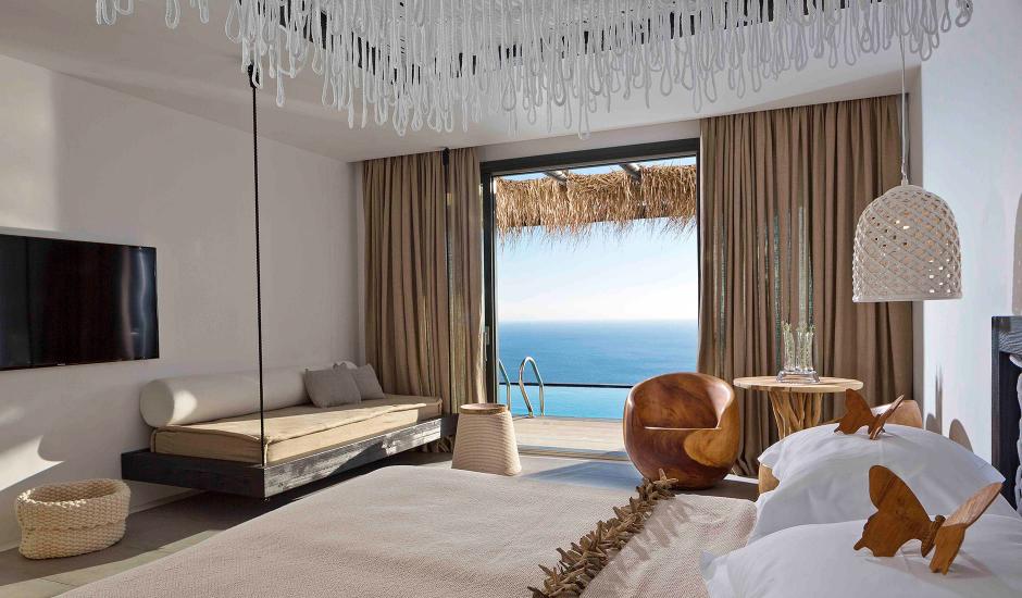 Myconian Utopia Relais & Chateaux Resort, Mykonos, Greece. The Best Luxury Hotels In Mykonos. TravelPlusStyle.com