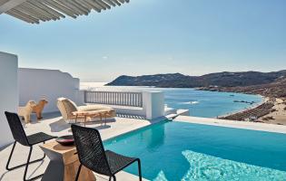 Royal Myconian - Leading Hotels of the World, Mykonos, Greece. The Best Luxury Hotels In Mykonos. TravelPlusStyle.com