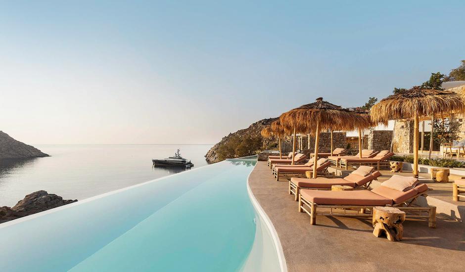 The Wild by Interni, Kalafatis, Mykonos, Greece. The Best Luxury Hotels In Mykonos. TravelPlusStyle.com