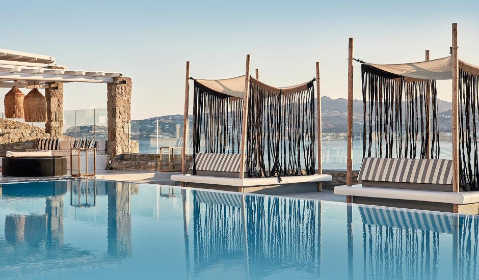 Mykonos No5 Suites & Villas, Mykonos, Greece. The Best Luxury Hotels In Mykonos. TravelPlusStyle.com