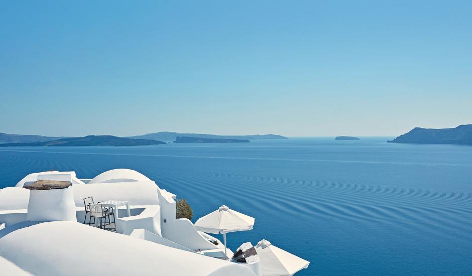 KatikiesSantorini, Oia, Santorini, Greece. TravelPlusStyle.com