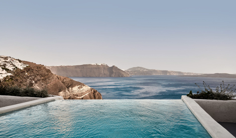 Mystique, a Luxury Collection Hotel, Santorini. TravelPlusStyle.com