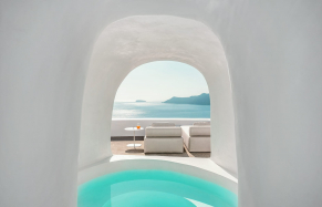 The Best Luxury Hotels in Santorini, Greece. TravelPlusStyle.com