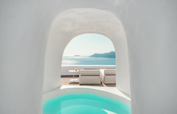 The Best Luxury Hotels in Santorini, Greece. TravelPlusStyle.com