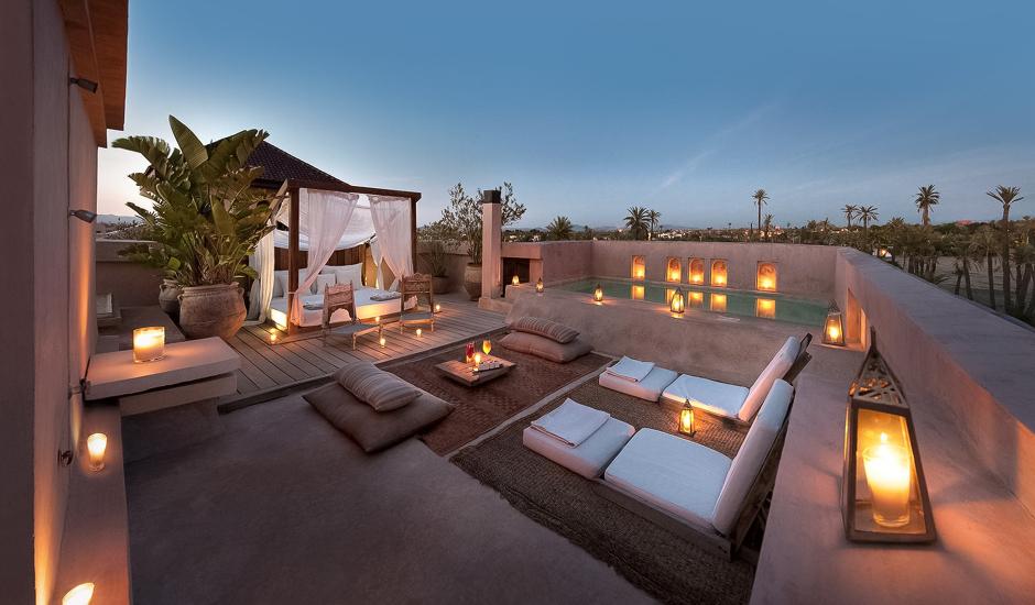 Ksar Char-Bagh,Marrakech, Morocco. TravelPlusStyle.com
