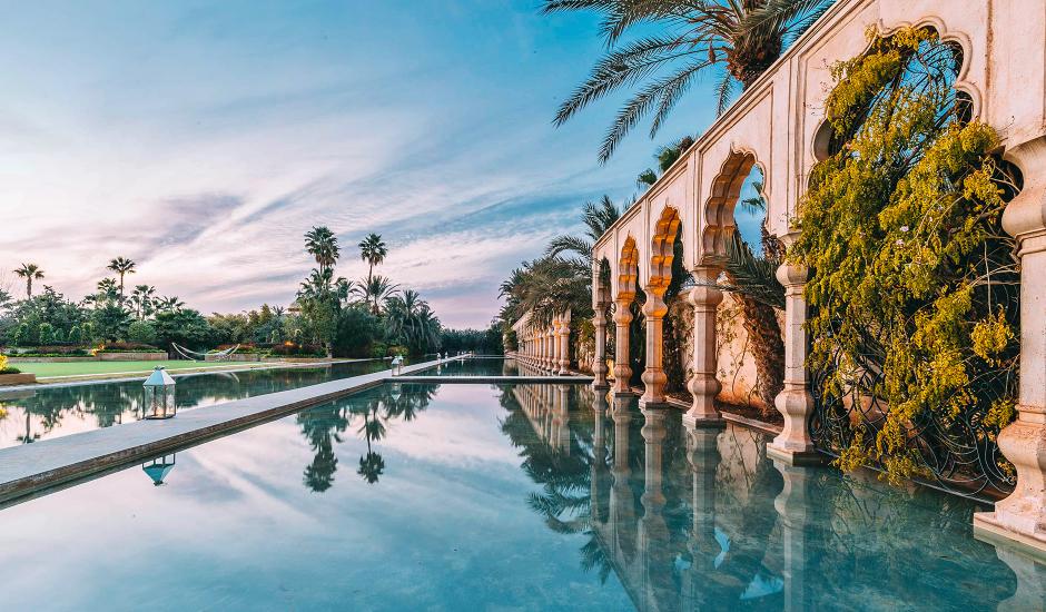 Palais Namaskar,Marrakech, Morocco. TravelPlusStyle.com