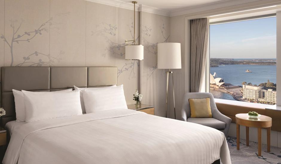 Shangri-La Hotel, Sydney, Sydney, Australia. TravelPlusStyle.com