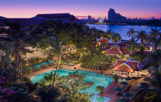 Anantara Riverside Bangkok Resort, Bangkok, Thailand. TravelPlusStyle.com
