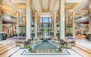 Siam Kempinski Hotel Bangkok, Bangkok, Thailand. TravelPlusStyle.com