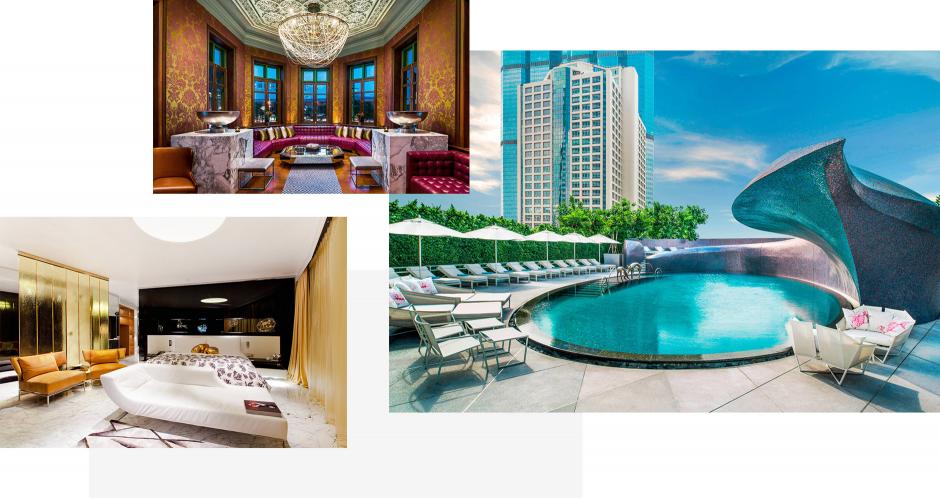 W Bangkok Hotel, Bangkok, Thailand. TravelPlusStyle.com