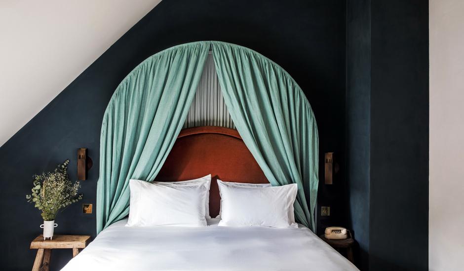 Hotel des Grands Boulevards, Paris.TravelPlusStyle.com