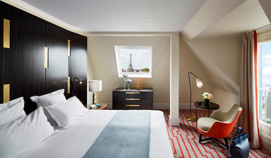 Hotel Montalembert, Paris, France. TravelPlusStyle.com